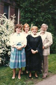 Debbie Graduates from Smith