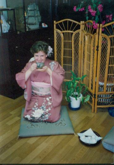 In Japan in my early 20s.